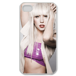 Lady Gaga 002 Custom Case for iPhone 4,4S