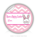 "Round Stickers Have A Happy Easter 3"" In Diameter Round Sticker"
