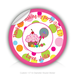 "Round Stickers Thank you For Making My Party Sweet 1.5"" In Diameter Round Sticker"