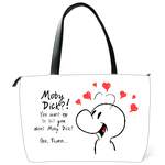 Shoulder Bag cute cartoon Shoulder Bag (two sides)