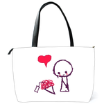 Shoulder Bag valentine's day Shoulder Bag (two sides)