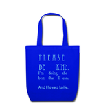Tote Bag deep blue Tote Bag