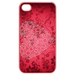 Iphone 4,4s Cases Valentine heart on floral Cases for  Iphone 4,4s(Pink)