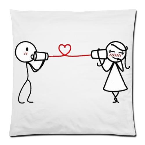 Love Pillows Design Love Sound Pillow Case