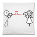 "Love Sound Pillow Case Custom Pillow Case 18""x18""(two side)"
