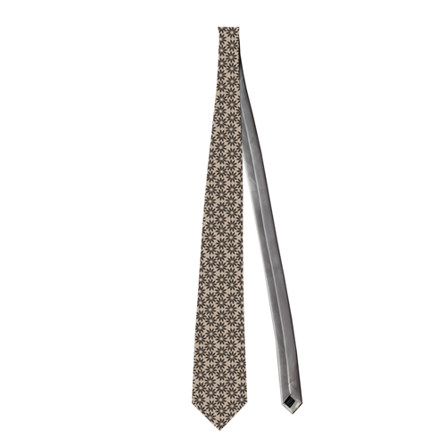 Necktie little floral pattern Custom Necktie