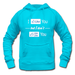 custom classic women funny blue hoodie idea Women's Distressed Hoodie