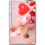 Kindle Fire Cases Valentine & rain drop Hard Cover Case for Kindle Fire
