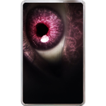 Kindle Fire Cases Valentine heart-shaped eyeball Hard Cover Case for Kindle Fire