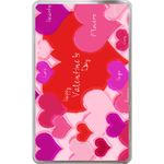 Kindle Fire Cases Valentine hearts of all colors Hard Cover Case for Kindle Fire
