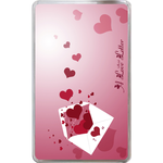 Kindle Fire Cases Valentine love letter Hard Cover Case for Kindle Fire