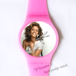 Custom Ladies Plastic Watch popular woman Custom ladies plastic watch