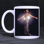 Goddess Whitney Houston Classic Mug Custom White Mug