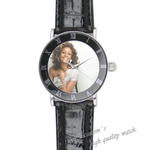 Leather Watch famous star Super Lovers Photo Watch (For Man)