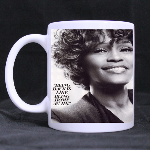 Popular Whitney Houston Classic Mug Custom White Mug