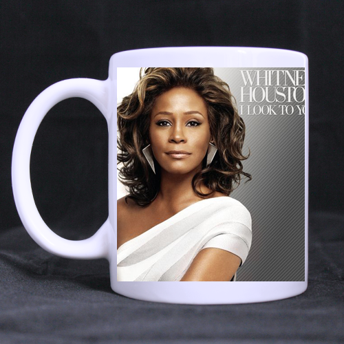 Whitney Houston I Look to You Classic Mug Custom White Mug