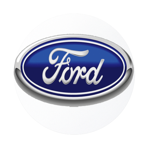 Ford Logo Round Rubber Coaster Custom Coasters