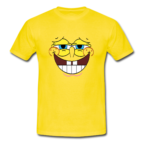 Funny Smile Face Yellow Custom Men Gildan T Shirt Men 39 S