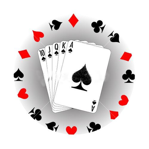 old poker chips