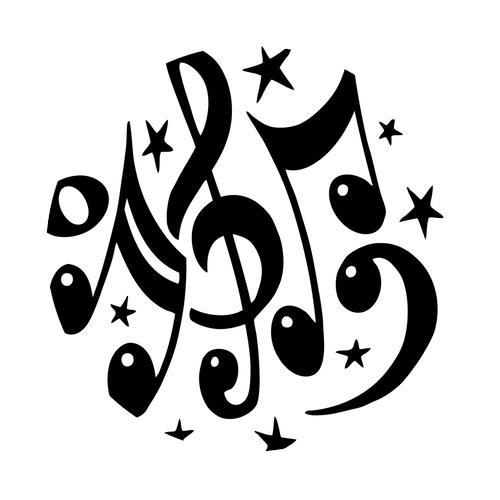 Home » Ideas » Coasters » Music Coasters » Musical Symbols Round ...