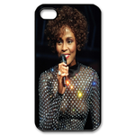 Beautiful Whitney Houston Custom Custom Case for iPhone 4,4S