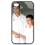 Custom iPhone 4,4S Case jeremy and yaoming Custom Case for iPhone 4,4S