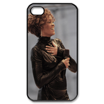 Excited Whitney Houston Custom Custom Case for iPhone 4,4S