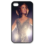 Goddess Whitney Houston Custom Custom Case for iPhone 4,4S