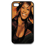 Gorgeous Whitney Houston Custom Custom Case for iPhone 4,4S