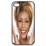 Optimistic Whitney Houston Custom Custom Case for iPhone 4,4S