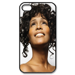 Sexy Whitney Houston Custom Custom Case for iPhone 4,4S