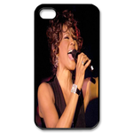 Singing Whitney Houston Custom Custom Case for iPhone 4,4S