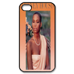 Whitney Houston Custom Custom Case for iPhone 4,4S