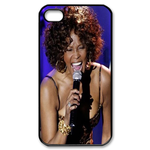 Whitney Houston Sing Songs Custom Custom Case for iPhone 4,4S