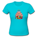 Happy Birthday Cake Custom Classic Women T-shirt Women's Girlie Shirt