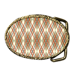 Oval Belt Buckle argyle Custom Belt Buckle