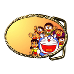 Oval Belt Buckle famous cartoon film Custom Belt Buckle