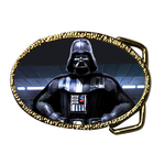 Oval Belt Buckle strong darth vader Custom Belt Buckle