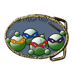 Oval Belt Buckle cute cartoon Custom Belt Buckle