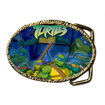Oval Belt Buckle funny game Custom Belt Buckle