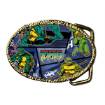 Oval Belt Buckle lovely turtles Custom Belt Buckle