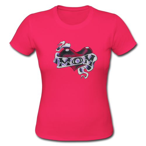 Mom day online custom classic women t shirt women 39 s girlie for Custom t shirts one day delivery