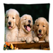 "Puppies Pillow Case Custom Pillow Case 18""x18""(two side)"
