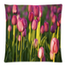 "Purple Tulips Pillow Case Custom Pillow Case 18""x18""(two side)"