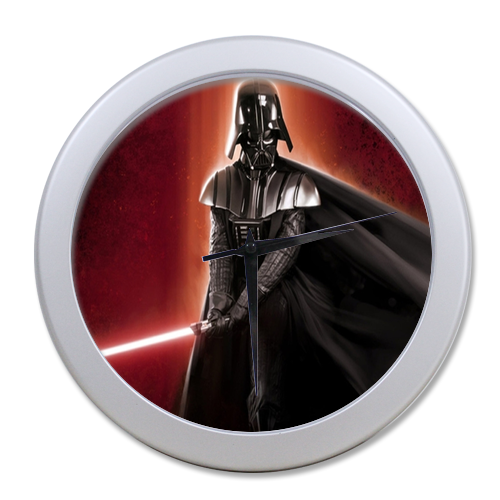 Darth Vader Star War Wall Clock Boys Celebrating Elegant