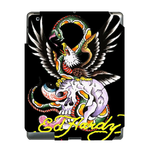 Abstract Ed Hardy  Ipad 3 Skin Skin for Custom IPad 3