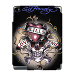 Ed Hardy Black Color Ipad 3 Skin Skin for Custom IPad 3