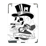 Ed Hardy Cool Skull  Ipad 3 Skin Skin for Custom IPad 3