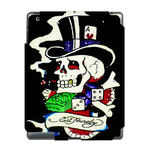 Ed Hardy Poker Ace Skull  Ipad 3 Skin Skin for Custom IPad 3