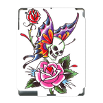 Ed Hardy Skull  Ipad 3 Skin Skin for Custom IPad 3